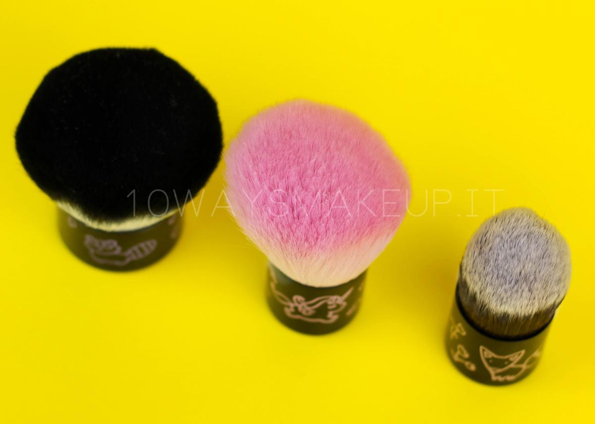 Neve Cosmetics Nevebuki pennelli