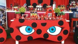 Ideias Para Festa de Aniversário Ladybug