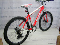 3 Sepeda Gunung Pacific Kodiak 6.8 21 Speed Shimano 26 Inci