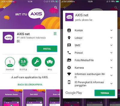 Cara Cek Kuota Internet AXIS via Aplikasi di Android