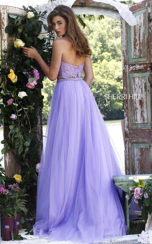 1aabe12a09d Sherri Hill 32347 Jeweled Two Piece Dress