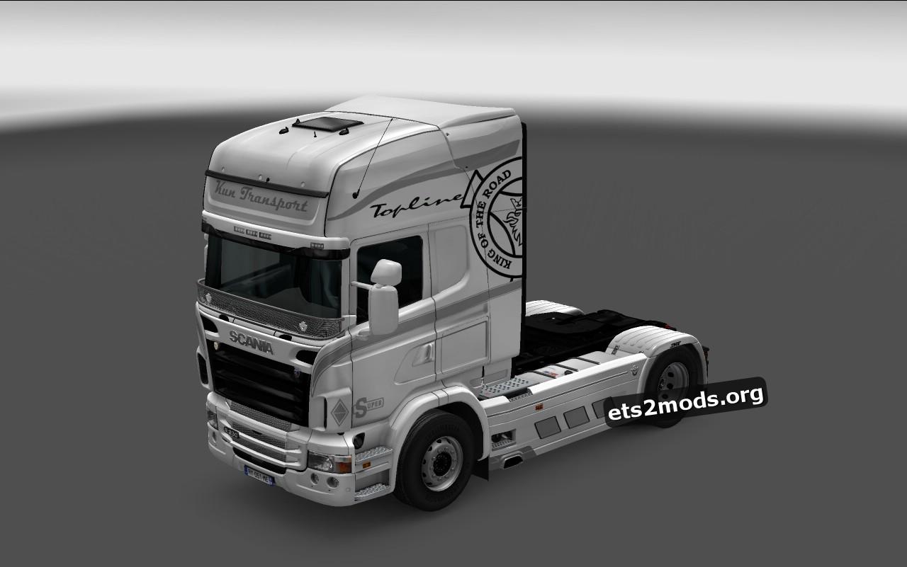 White Girl Skin for Scania RJL
