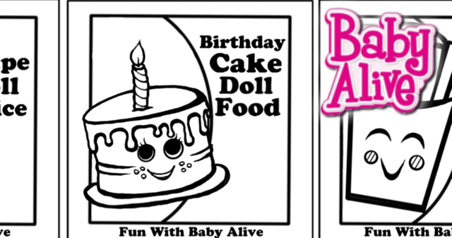 Fun With Baby Alive Free New Fun Baby Alive Doll Food And