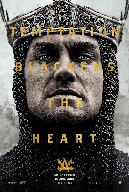 King Arthur: Legend of the Sword Jude Law Poster