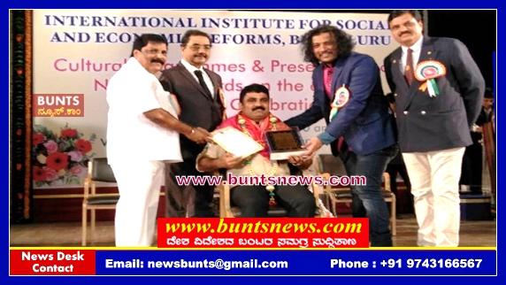 Best Engineering National Award Jeevan K Shetty