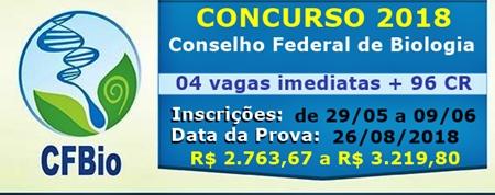 Concurso CFBio 2018
