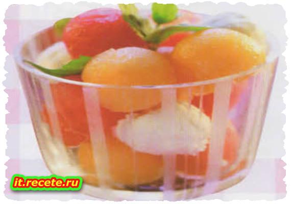 Verrine di anguria e melone