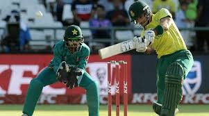 RSA vs Pak 1st T20 2019, live cricket score highlight