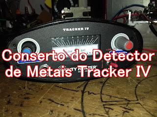 Detector de metais tracker IV