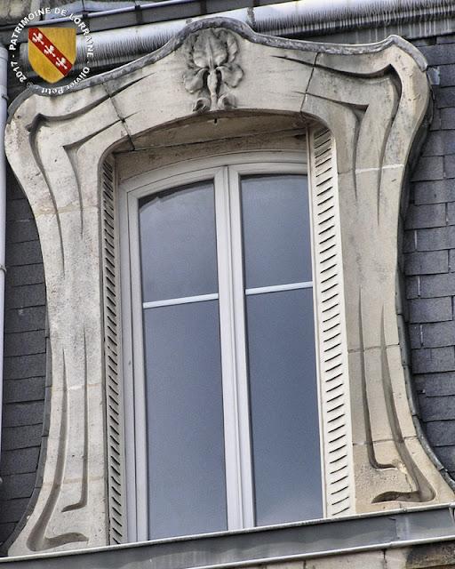 TOUL (54) - Maison art nouveau (1913)