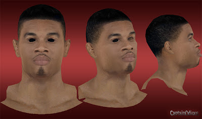 NBA 2K13 Gerald Green Cyberface Mod