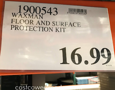 Deal for the Waxman Home Floor and Surface Protection Kit at Costco