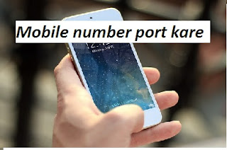 mobile number port kare