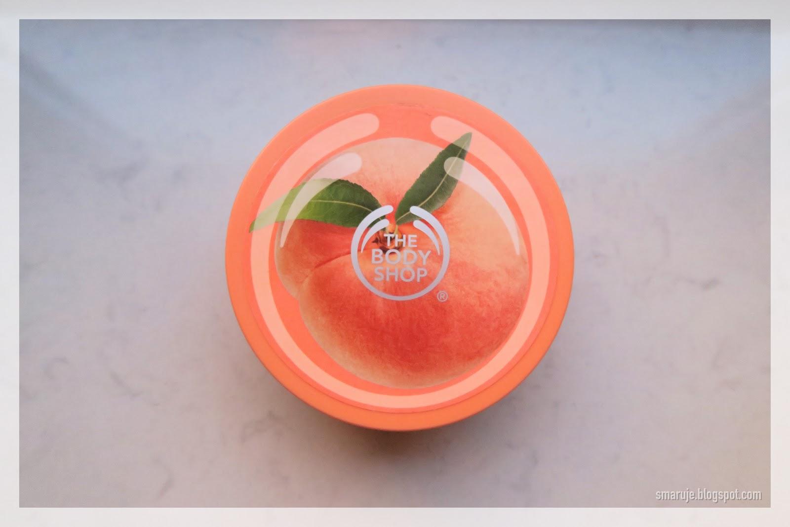 The Body Shop –Vineyard Peach Body Butter, czyli... turbobrzoskwinia /recenzja/