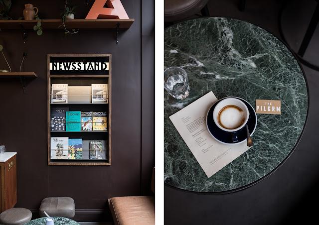 coffee shop at the pilgrm hotel paddington london