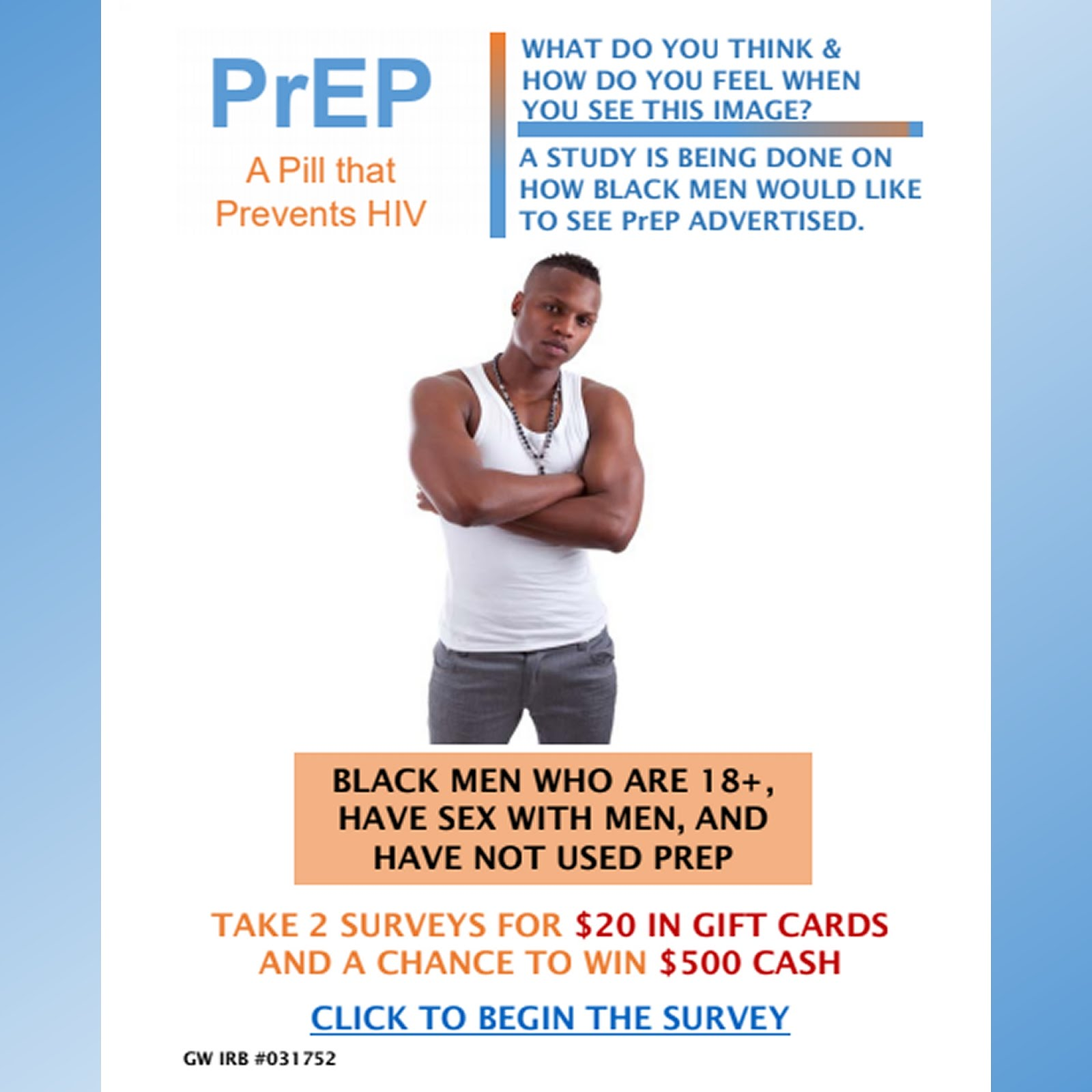 Research Study for Black MSM: Earn $20 in Gift Cards | The