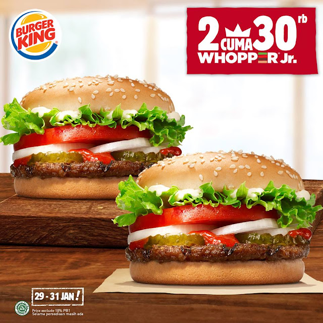 Promo Burger King, Promo Burger, Diskon Burger King, Diskon Burger, Promo Restoran