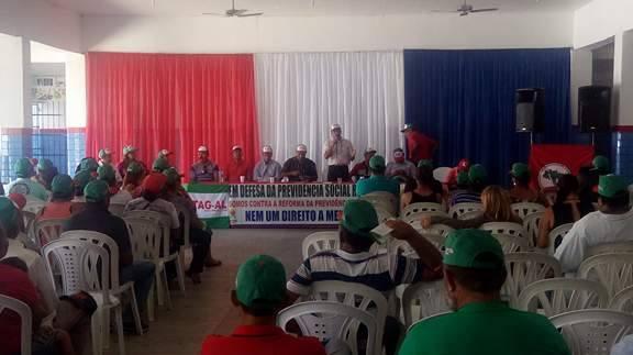 Sindicato Rural de Olho D'Água do Casado realiza audiência pública sobre reforma da previdência
