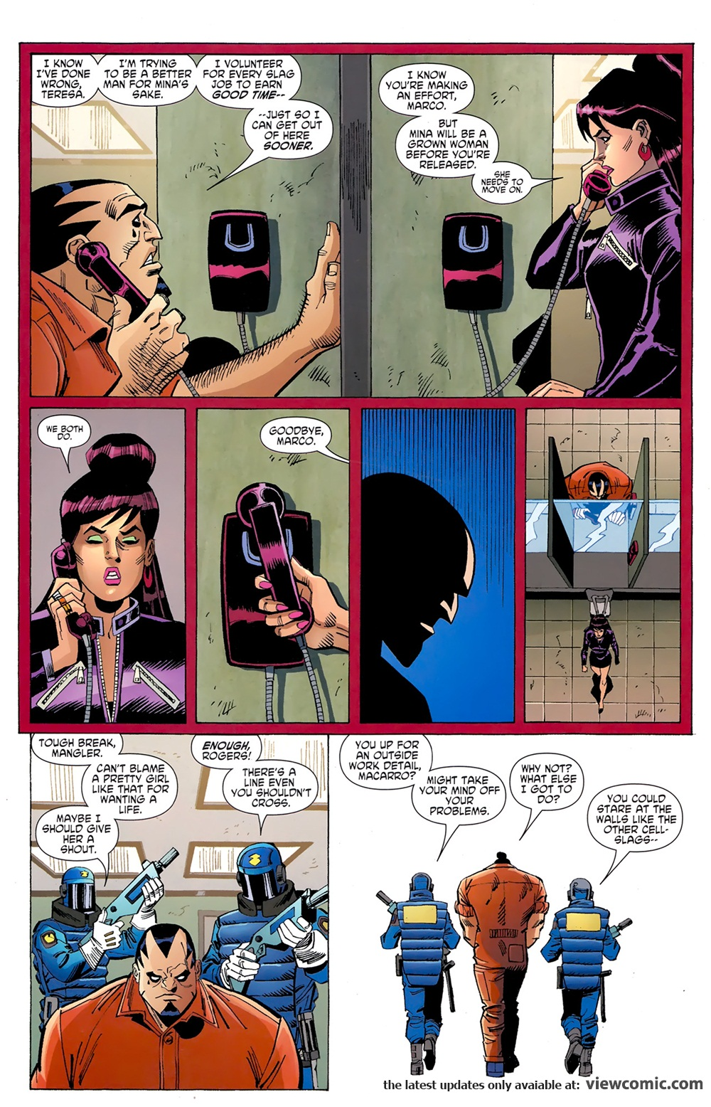 Superman Beyond 000 (2011) | Viewcomic reading comics online for ...