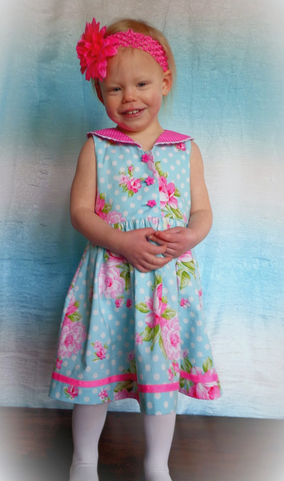 A year of dresses seaside sailor dress with a fun twist tie dye this pattern has both a baby and girls version and the modification im going to show you will work with both solutioingenieria Image collections