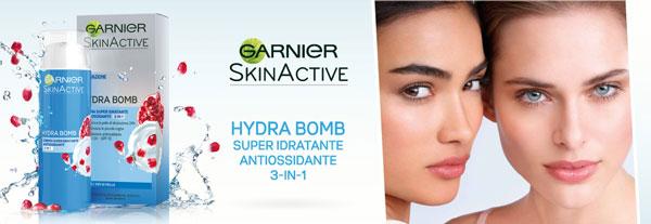 crema idratante Garnier Hydra Bomb
