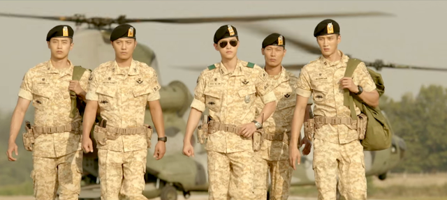 Descendants of the Sun 2016 best k-drama starring Song Hye Kyo and Song Joong Ki