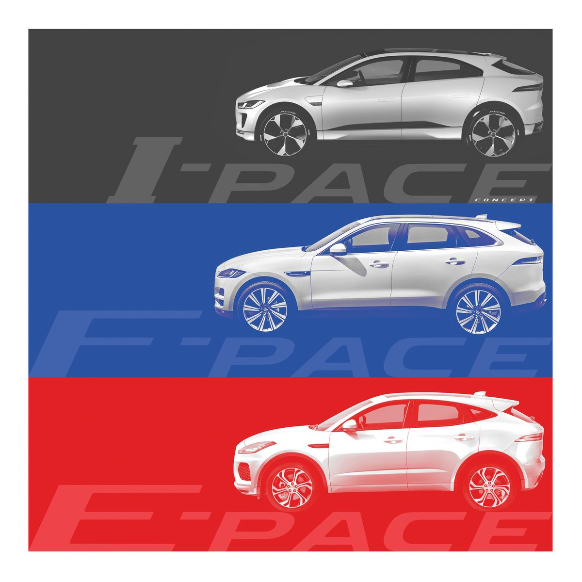 new jaguar e pace baby suv teased debuts july 13 priced from 38 600. Black Bedroom Furniture Sets. Home Design Ideas