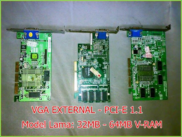 Video Graphic card External PCI-E1.1 Model Lama
