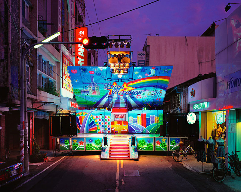 Photos Of Colorful Pop Up Stages By Shen Chao Liang