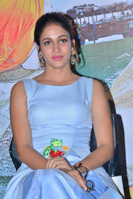 Actress Lavanya Tripati Latest Cute Hot Spicy Photos Gallery At Mister Telugu Movie Trailer Launch