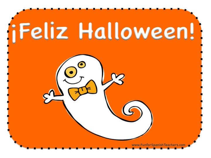 Halloween Calendar Set in Spanish   Fun for Spanish Teachers