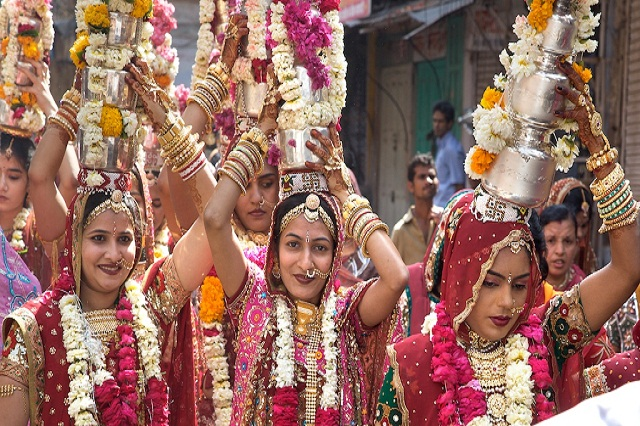 Gangaur - Summer festival in India