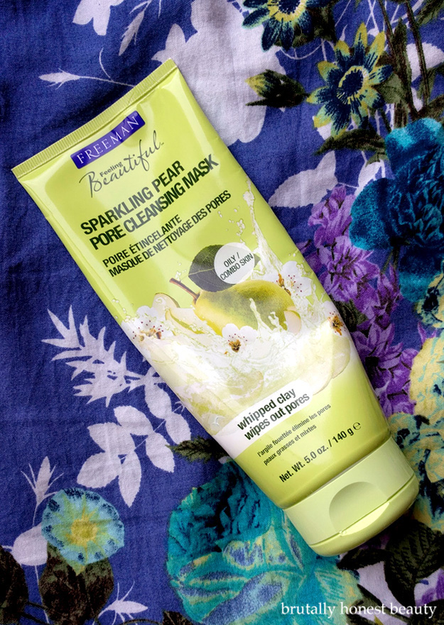 Review of Freeman Sparkling Pear Pore Cleansing Mask