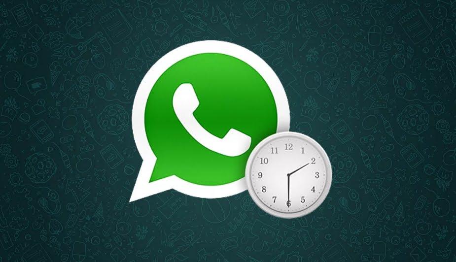 Come programmare messaggi di WhatsApp da inviare più tardi