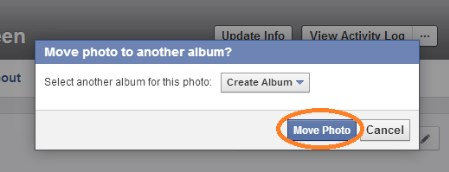 how to delete photos from facebook album
