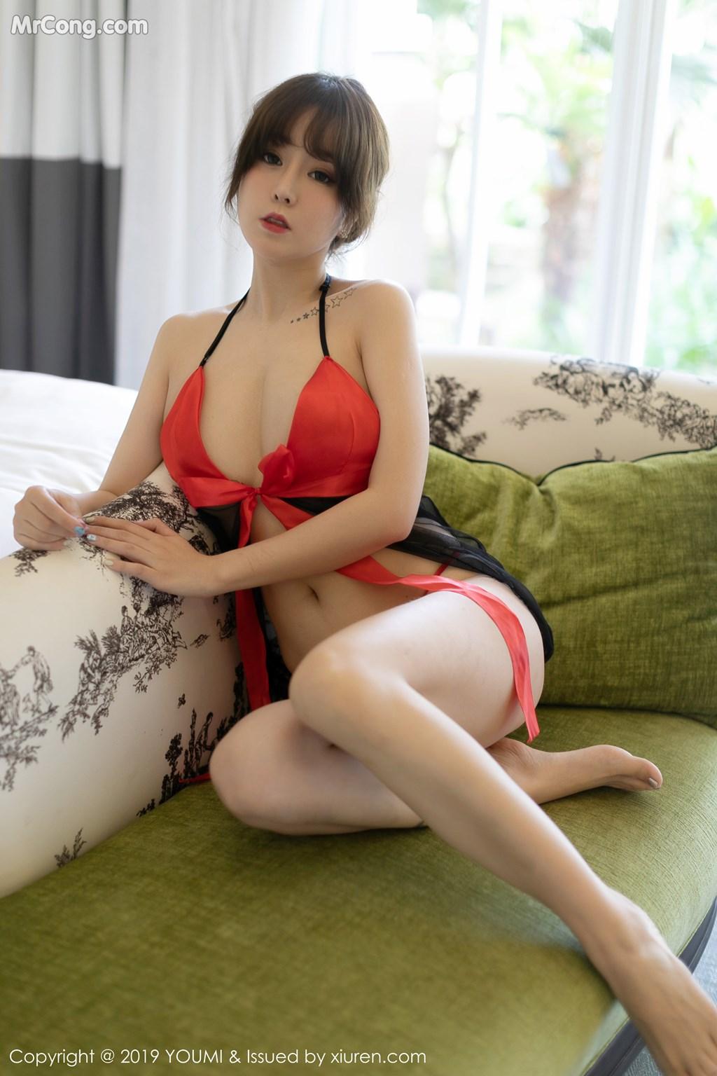 Image YouMi-Vol.336-Wang-Yu-Chun-MrCong.com-003 in post YouMi Vol.336: Wang Yu Chun (王雨纯) (43 ảnh)