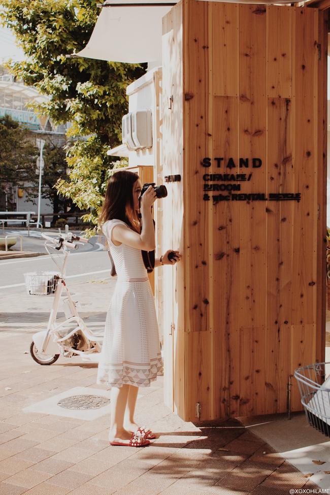 Japanese Fashion Blogger,Mizuho K, Road trip-Okayama cafe STAND1-1