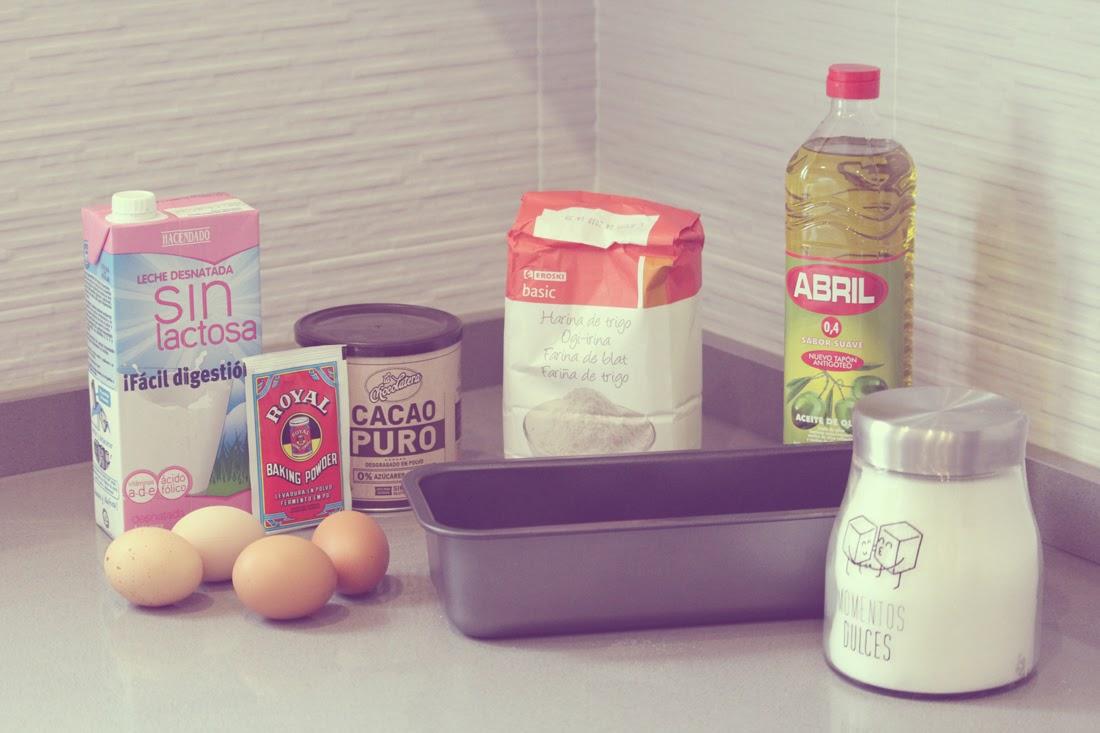 Receta Plum Cake o bizcocho chocolate - Punto de Lu