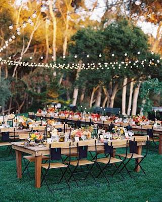 decoracion comedor boda al aire libre