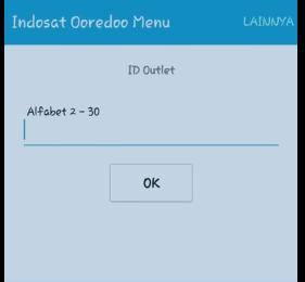 id outlet indosat alfabet