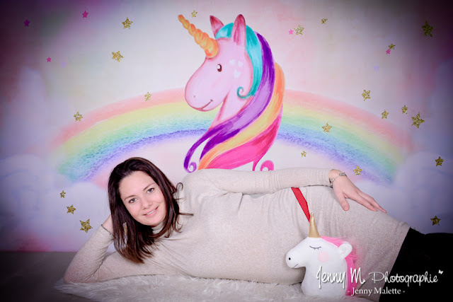 photo licorne la chaize le vicomte, séance photos déco licorne