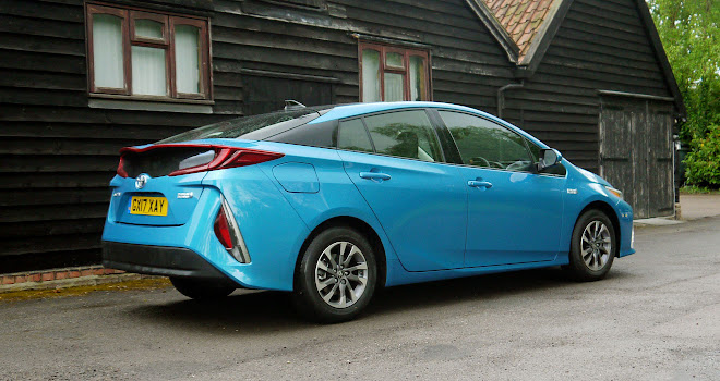 Toyota Prius Plug-in rear view