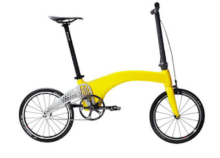 Hummingbird Bike Company, Hummingbird Carbon Fiber folding Bike