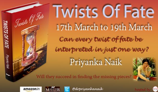 Book Blitz : TWISTS OF FATE by Priyanka Naik