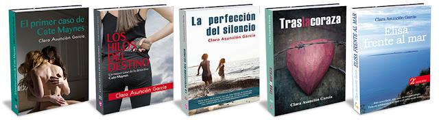 Novelas de Clara Asunción García
