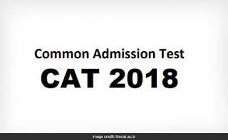 CAT 2018 Exam Notification