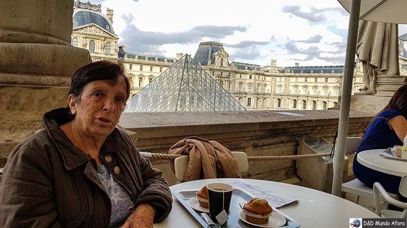 Chá da tarde no Museu do Louvre - Diário de Bordo - 3 dias em Paris