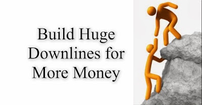 Build huge downlines for more money