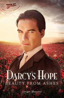 Book Cover: Darcy's Hope: Beauty from Ashes by Ginger Monette