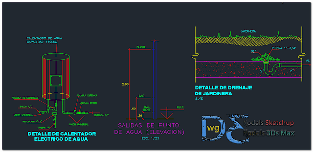 Country house in AutoCAD